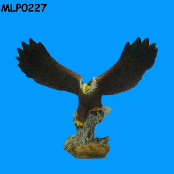Hand painted Resin Eagle Showpieces For Home Decoration