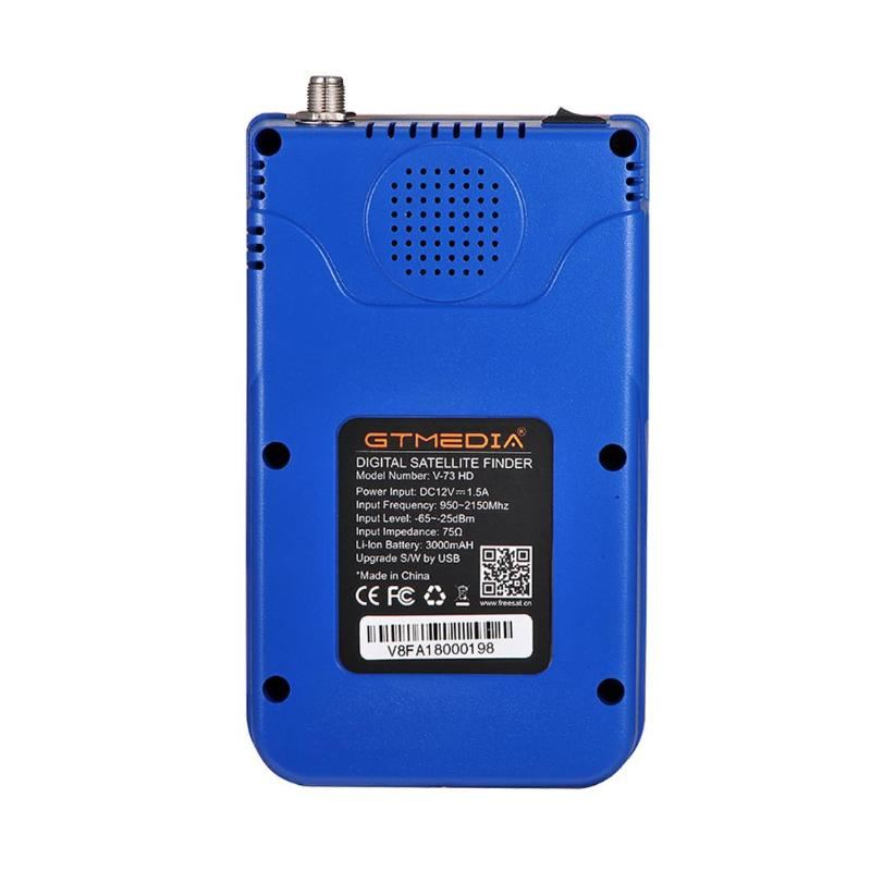 Free Ship GTMEDIA V8 <strong>Satellite</strong> Finder DVB-S2/S2X Digital High Definition Sat Finder DVB S2 HD 1080P <strong>Satellite</strong> Meter Satfinder