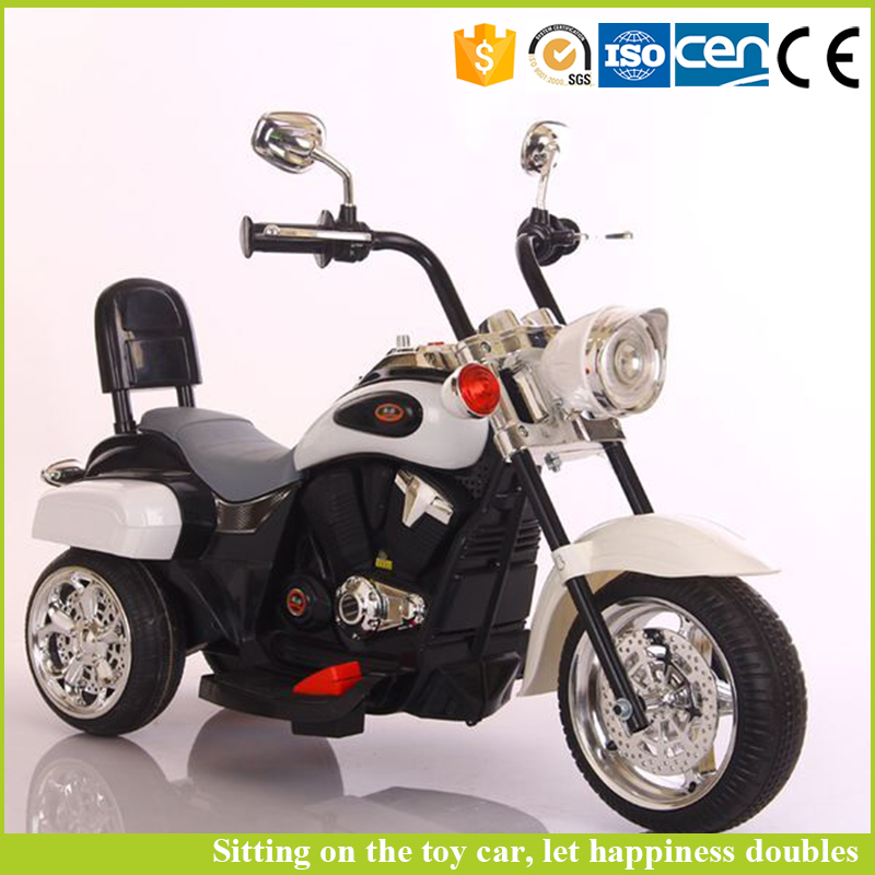 China factory toys one battery baby drive mini 3 wheel motorcycle for kids