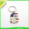 New design New york letter keychain with factory price