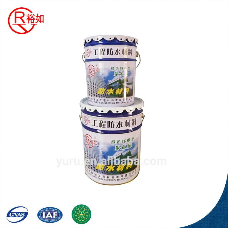 The basement, tunnel, kitchen, bathroom, swimming pool Two-component polyurethane waterproof material