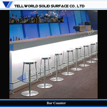 china acrylic solid surface outdoor bar tops