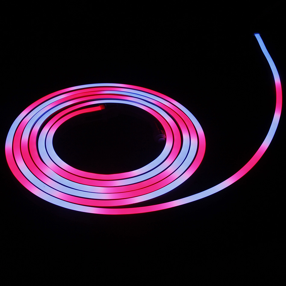 Led Christmas String Light 140lm/w 5050 Rgb Strip Light Neon Flex Led Rope Light Factory in China
