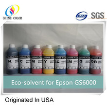 8 color eco solvent gs6000 for epson printer gs-6000