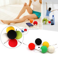 new arrival high quality colorful balls super mini portable speaker for mobile phone