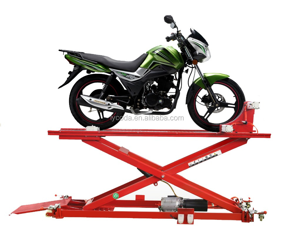800KG low prices small motorcycle lift jack manual lifting jack for sale