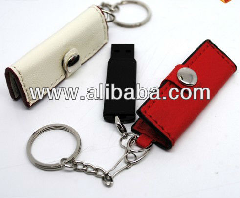 Leather USB Flash Drive from 1GB to 32GB,USB Flash Disk,Memory Stick