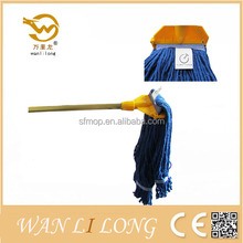 SC004B Blue disposable wipes cotton floor mops