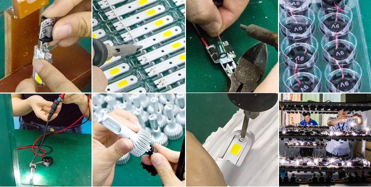 H7 led car headlight in Auto lighting system