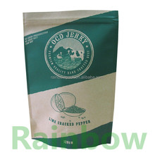 Stand up paper bag for beef jerky /food /coffee 100g 200g 250g 500g 1kg