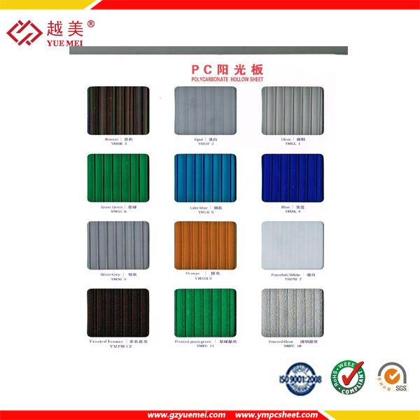 6mm precio de multiwall hoja de policarbonato lexan - Precio de policarbonato ...