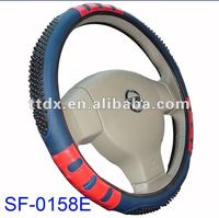 new massage PVC (leather) unique car steering wheel covers