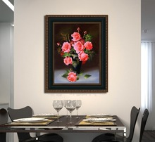 Hot Sale Diy Crystal Diamond Painting Red Rose for wall decoration