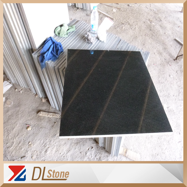 Daleistone China Black Granite Stone Flooring Tile