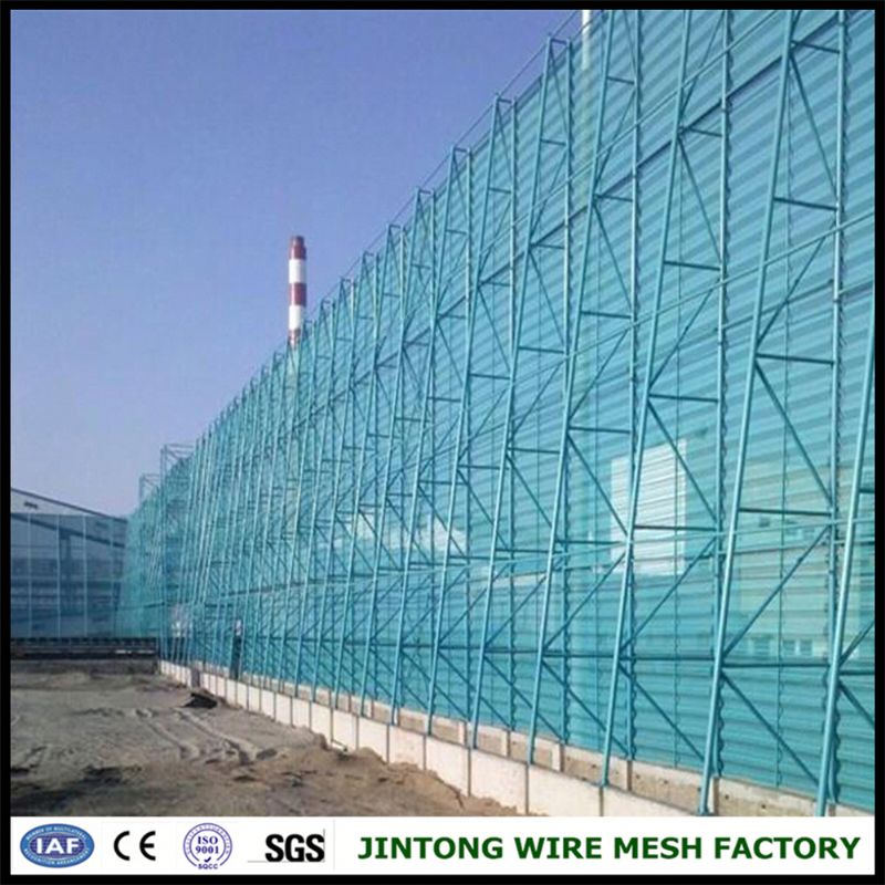 perforated metal for weind or dust nets dust wind proof netting cheap round hole perforated metal wire mesh