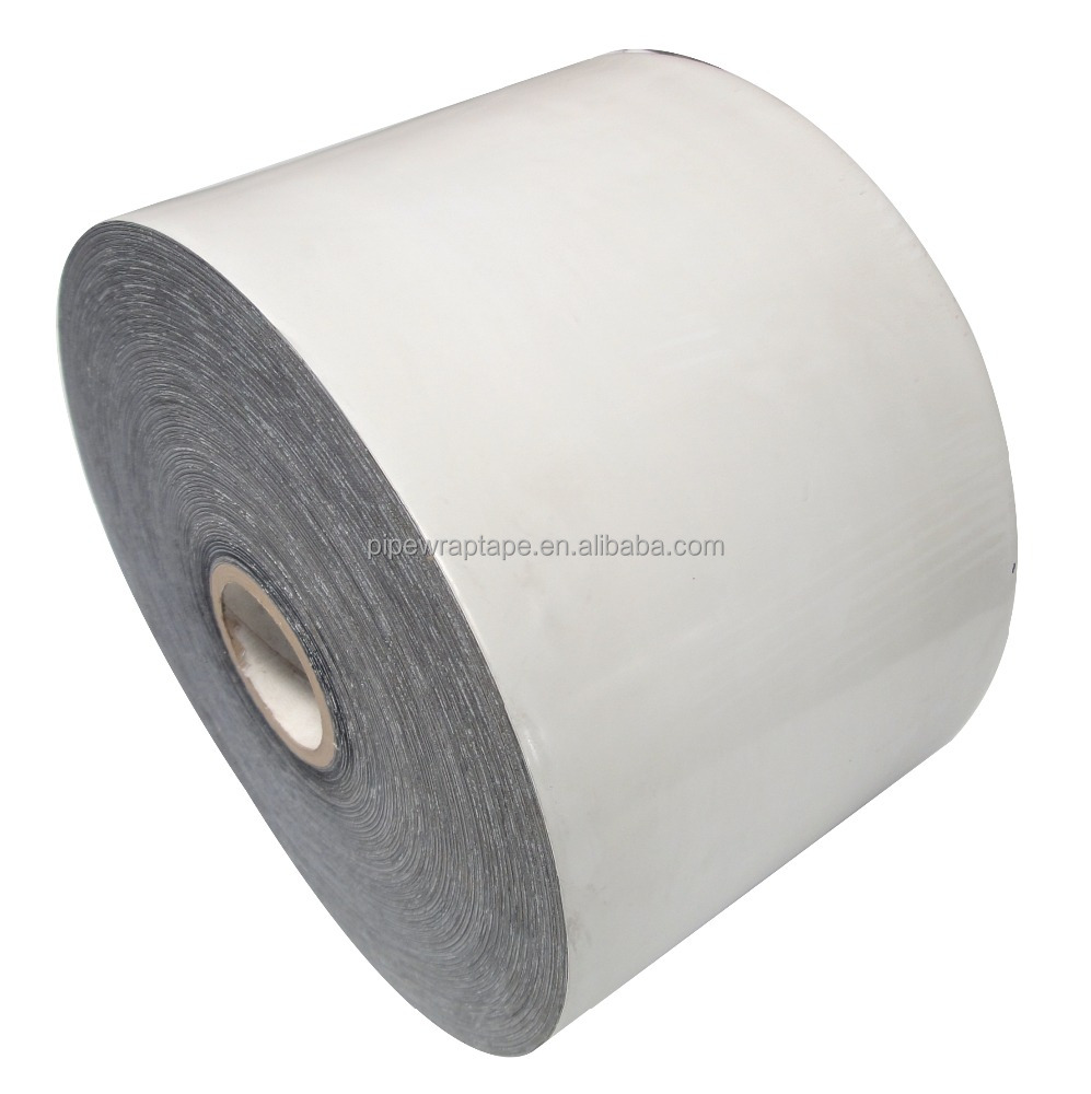 Mechanical protection anti corrosion tape with high adhesion butyl rubber adhesive