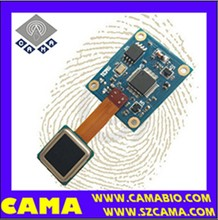 CAMA-AFM31 Capacitive fingerprint reader module for safes/ locks/ access control/ time recorder/ car security
