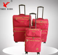 15 colors for choose big room trolley case with 8 wheels/ home and abroad travel trolley case/ strong case trolley