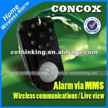 MMS&SMS alarm,Video taking function, infrared sensor, 30w pixel camera good looking body