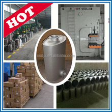 kinds of forklift engine exhaust system muffler supplier