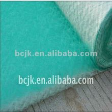 Fiberglass panel exhaust filter/air filter material