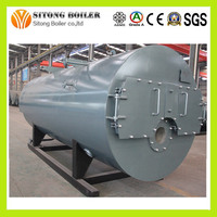 China New Design and Low Price WNS Series Oil Gas Steam Boiler