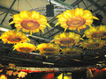 giant inflatable sunflowers for wedding decoration