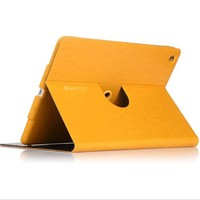 2013 hot selling decent design leather case for Ipad air