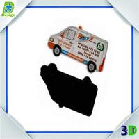 Souvenirs Car Shaped Rubber Magnet CustomColor Printing Fridge Magnet