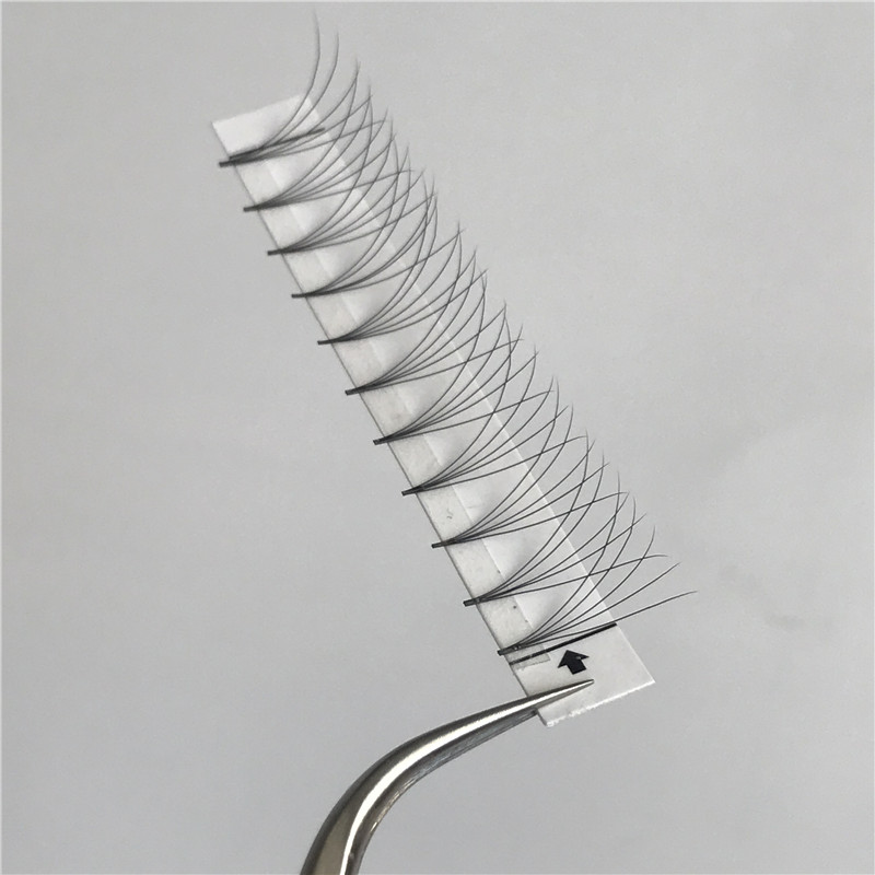 Distributor indonesia 5d lashes alibaba eyelash extensions 0.07 0.10mm J B C D curl 5d pre made fans