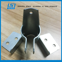china supplier custom precision drawing sheet metal stamping parts oem deep drwan zinc plated steel clamp stamping part