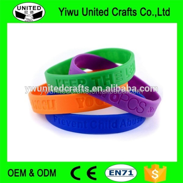 yiwusilicone wrist bands , colorful silicone loom wristbands , wholesale energy silicon bracelet