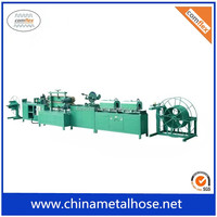Good performance mechanical flexible metal hose forming machine