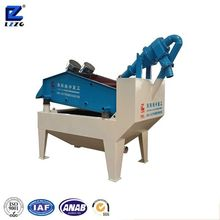 Sand recycling and dewatering machine in new type