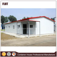 China supplier prefabricated steel frame living home