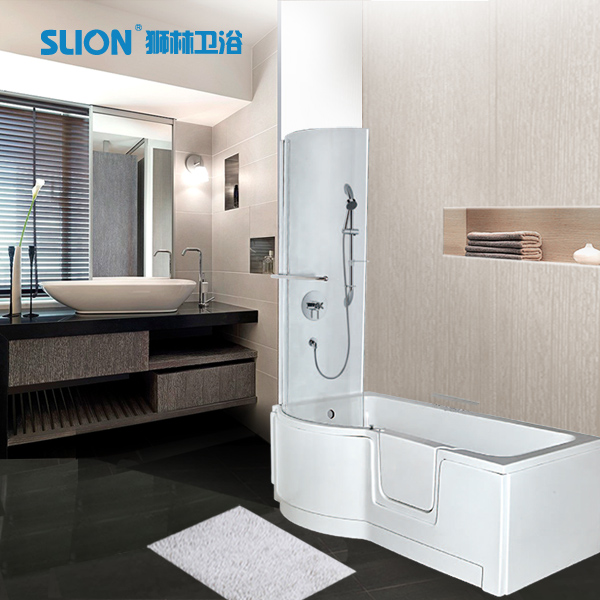 Walk In Tub Shower Combo With Seat Bathtub Buy Walk In