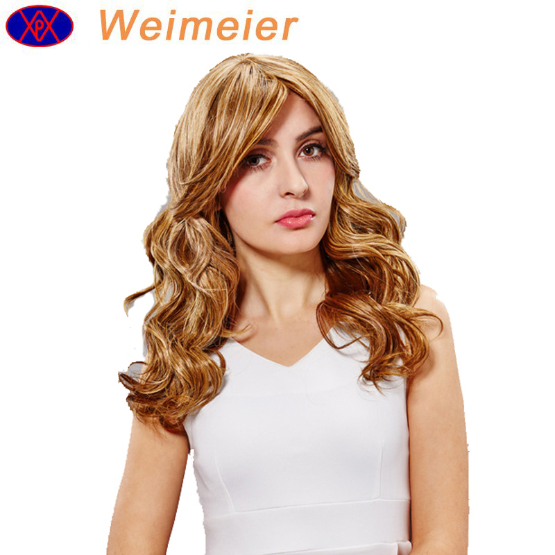 2019 latest ladies' hair wig long curly wave high quality Japanese high temperature fiber