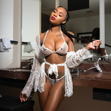 New Design Woman Bra Sets Sexy Bandage Hot Young Girls Image Transparent Sexy Lingerie