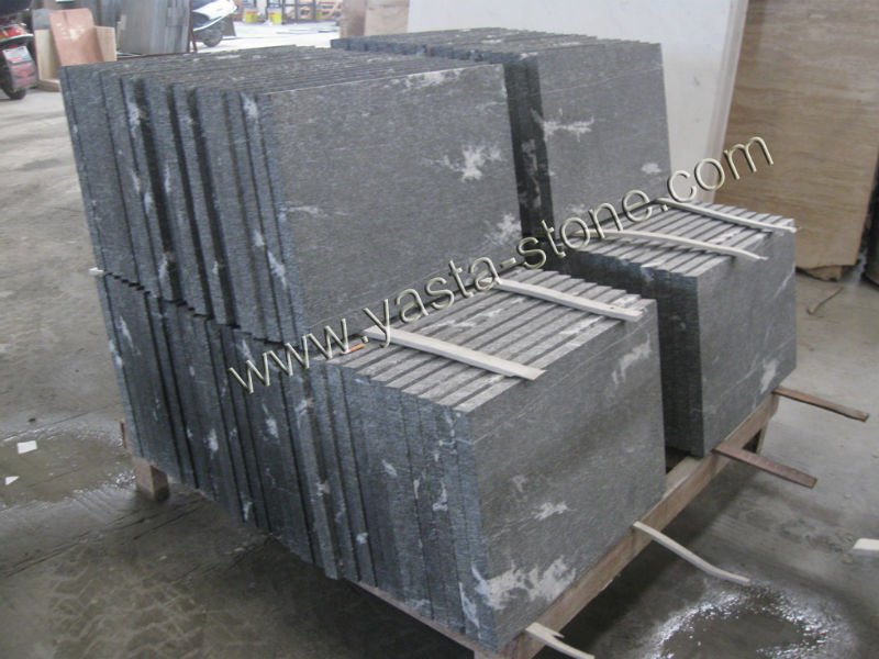 grey snow marble laminated tile
