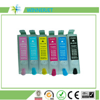 2016 top grade quality printer ink cartridge for epson Stylus Photo R200 R220 R300 R320 refill ink cartridge