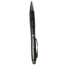 Competitive price flashlight touch pen gift fine point stylus