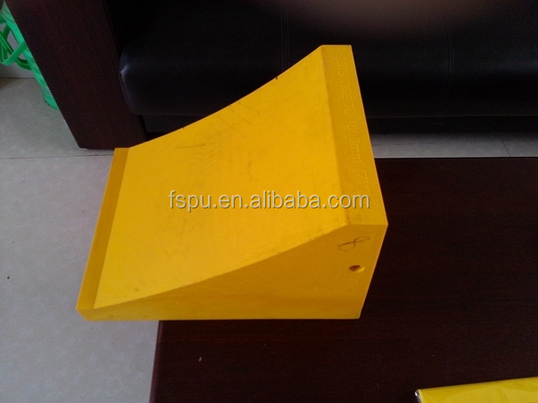 Anti-slip Wheel Chock for 10tons truck Custom stop block Hot Sale