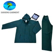 PVC adult raincoat transparent