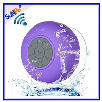 Active Wireless Mini Waterproof Bluetooth Shower Speaker