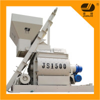 JS1500 compulsary twin shaft automatic Concrete Mixer