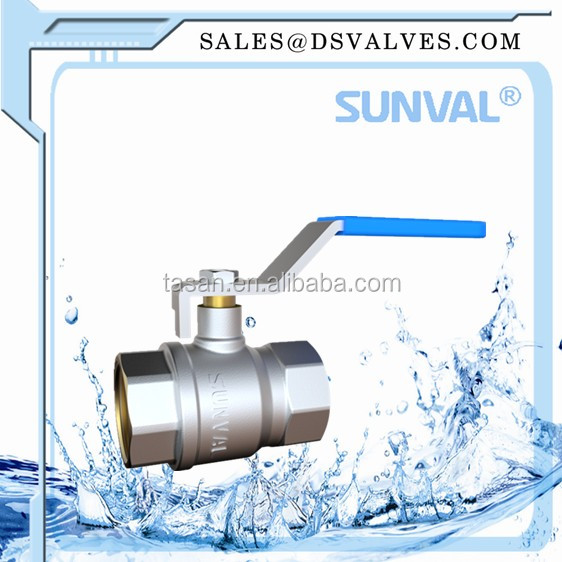 "S110600 1""high quality level handle forged brass BALL VALVE"