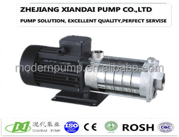 Horizontal water booster pump