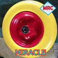 "13""*3.00/3.25-8 PU Foam Wheel flat free"