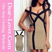 2014 Lastest design super Cutout Shoulders womens hot sex images dresses