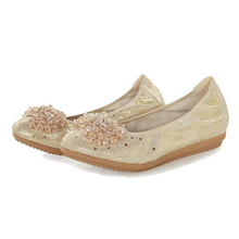 wholesale fashion high quality flexible genuine leather soft women ballet flat dance shoes
